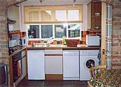 Typical Well Equipped Cottage Kitchen Interior